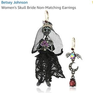 Betsey Johnson | women's skull bride mismatch